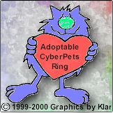 Adoptable Cyberpet Ring